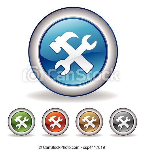 vector tool icon - csp4417819