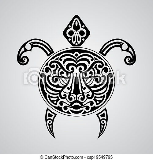 3ec38cda6 Vector tortoise with tiger face on its shell, tattoo sketch ...