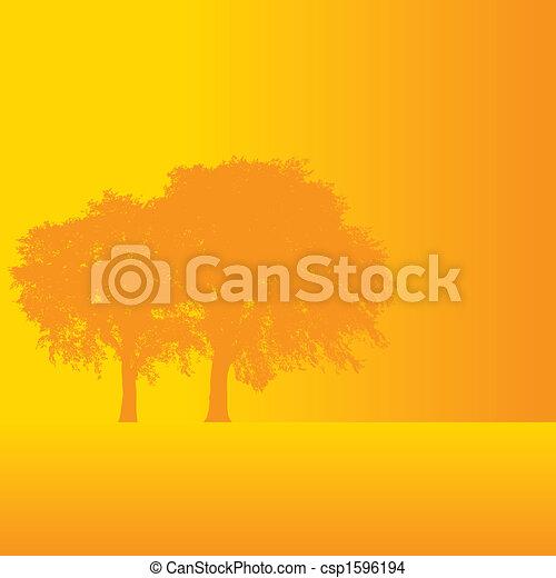 Vector tree background - csp1596194
