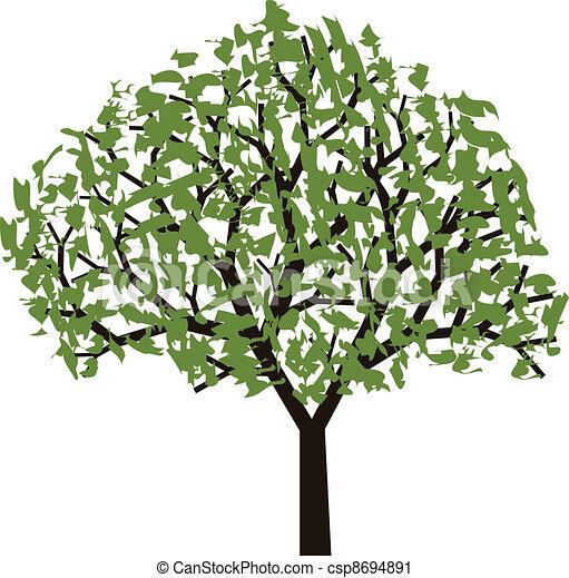vector tree - csp8694891