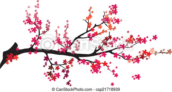 Vector - tree with birds - csp21718939