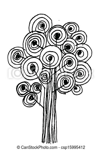 Vector trees with leaves - csp15995412