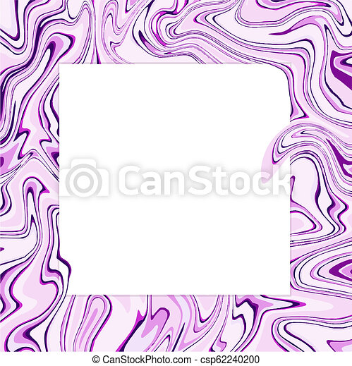 Vector Ultra Violet Marble Abstract Background Liquid Marble Pattern Trendy Template For Design Wedding Invitation Party Birthday Web Banner