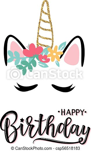Ilustración Vectorial De Una Feliz Invitación De Cumpleaños