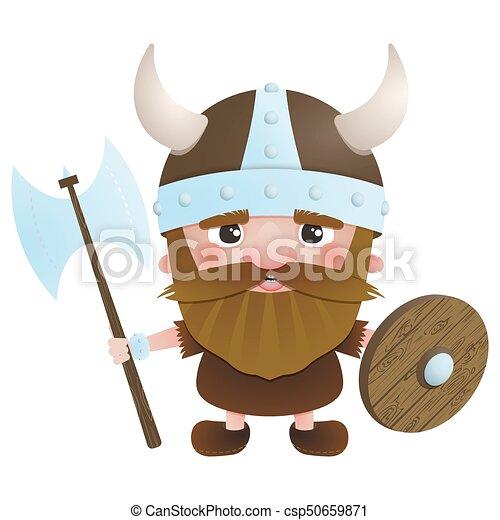 vector Viking warrior 2 - csp50659871