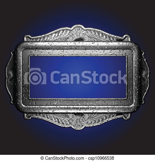 Vector vintage frame - csp10966538