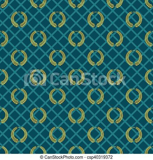 Vector Vintage seamless pattern eps 10 - csp40319372