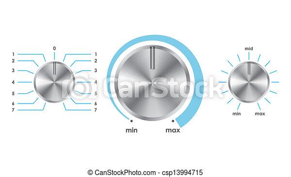 Vector volume balance knobs - csp13994715
