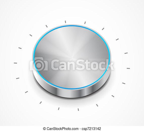 Vector volume switch knob - csp7213142