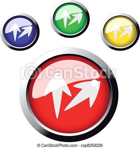 Vector web buttons - csp8259226