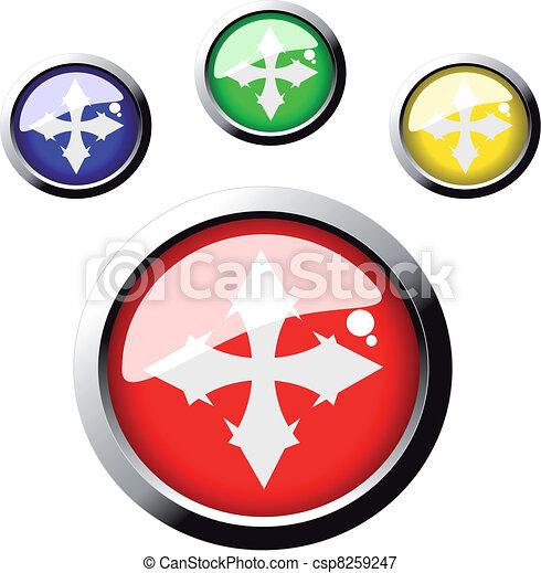 Vector web buttons - csp8259247