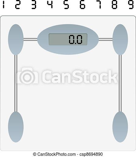 vector weight scale - csp8694890