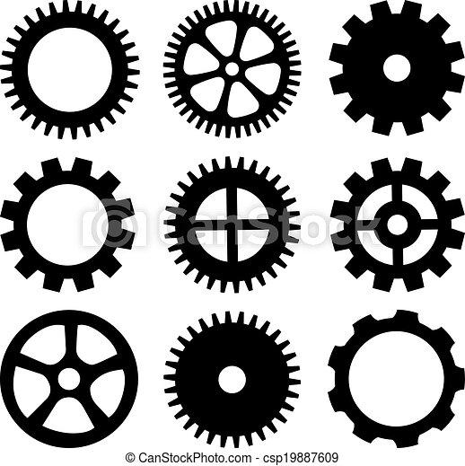 Vector wheels - csp19887609