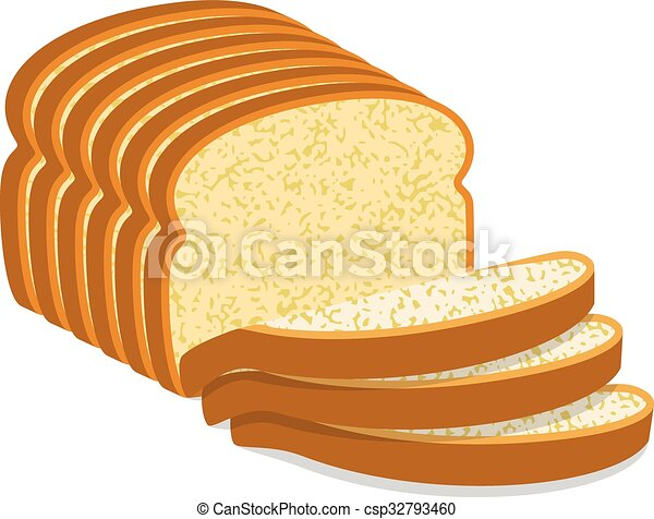 white bread illustrations and clipart 26 974 white bread royalty rh canstockphoto com Slice of Bread Outline 2 slices of bread clipart