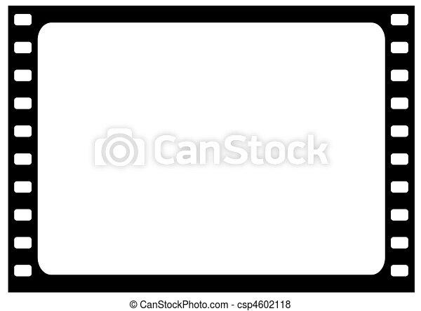 vector wide film frame - vector - csp4602118