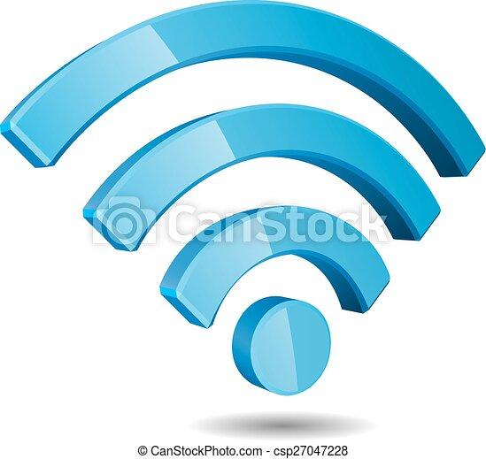vector wifi wireless network symbol wi fi wireless network symbol Wireless Network Connection Symbol vector wifi wireless network symbol csp27047228