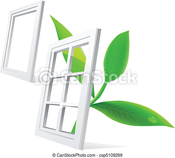 Vector window and leaf - csp5109269