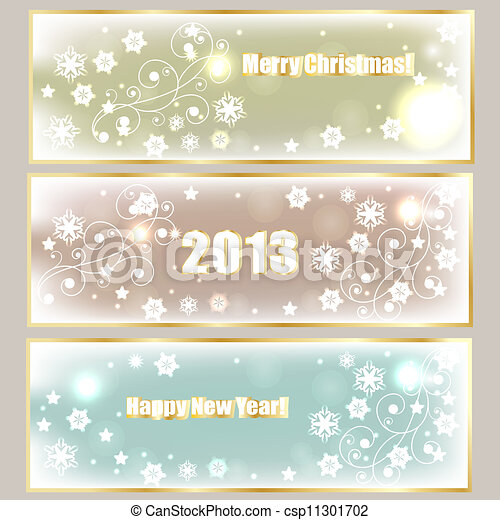 Winter Holiday Banners House Rent Banners