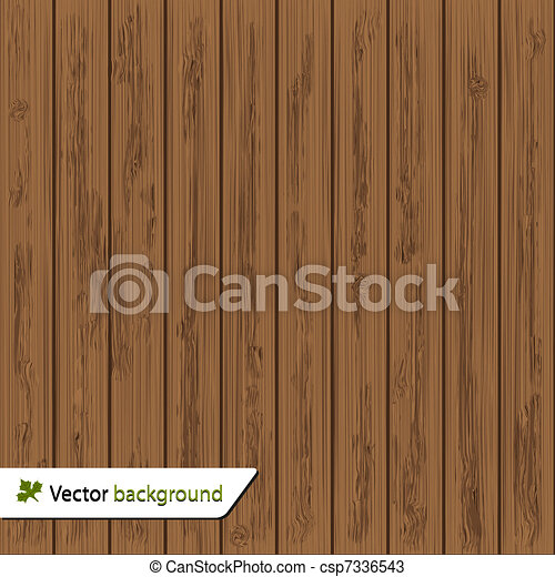 Vector wood background for your des - csp7336543
