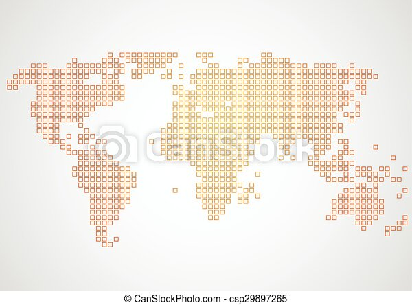 Vector world map pixel background illustration clip art vector vector world map pixel background illustration gumiabroncs Image collections