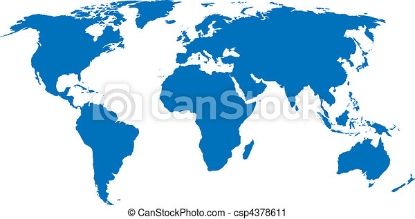Vector world map vector clip art search illustration drawings vector world map gumiabroncs Gallery