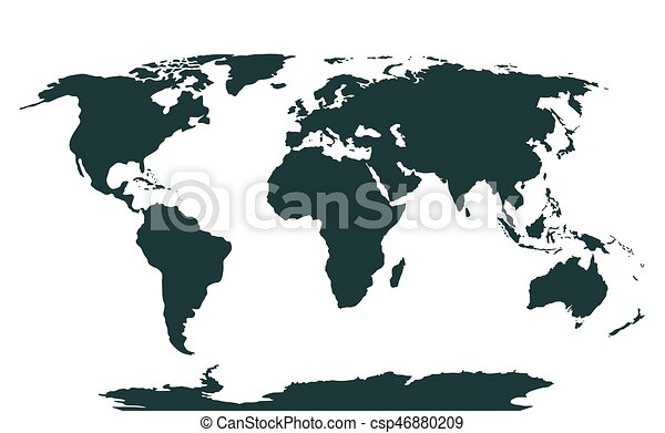Vector world map vector illustration of a world map vector vector world map gumiabroncs Gallery