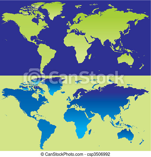 Fully editable vector world map with details ready to use vector vector world map with details gumiabroncs Image collections