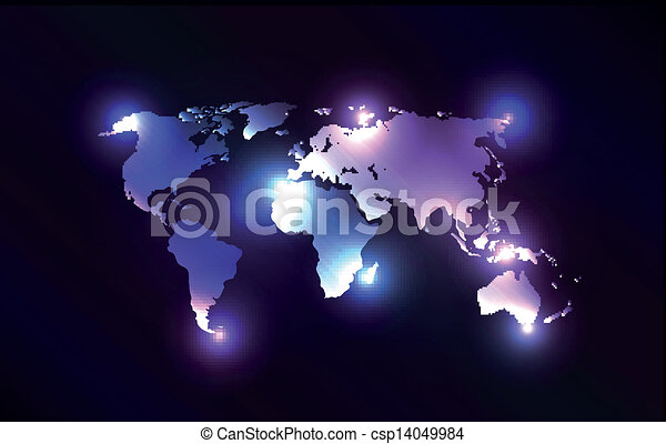 Vector worldmap with laser lights creative and original vector vector worldmap with laser lights gumiabroncs Choice Image