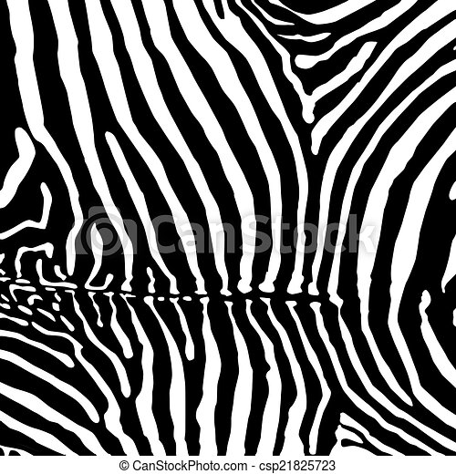 Vector Zebra Background Vector Illustration 10 Eps