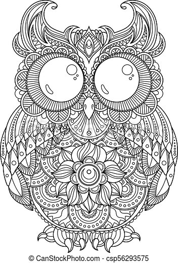 Cheerful Oasis Coloring Page | 470x317
