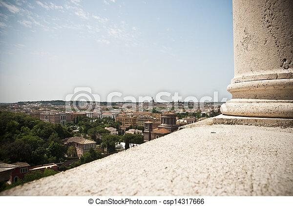 veduta, roma - csp14317666