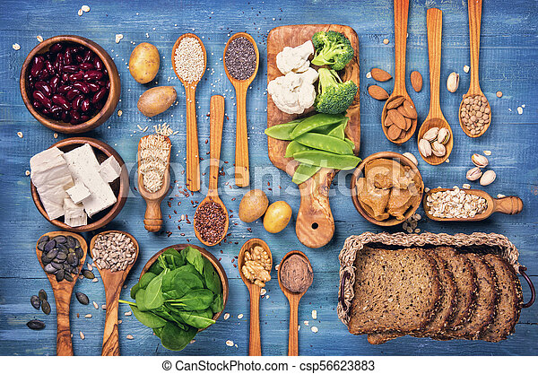 Vegan protein sources - csp56623883