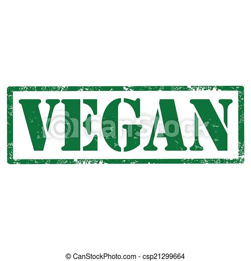 vegan-stamp - csp21299664