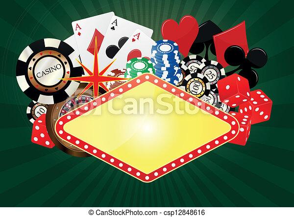 La bandera de Las Vegas - csp12848616