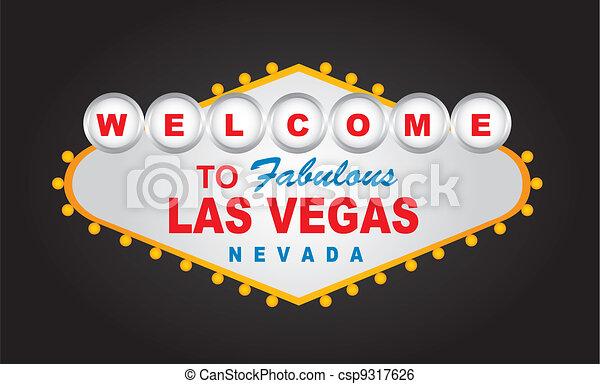 Bienvenidas Las Vegas - csp9317626