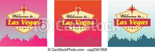 Bienvenidos a Las Vegas - csp2341958