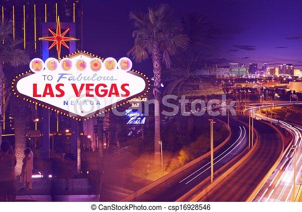 Calles de Las Vegas - csp16928546