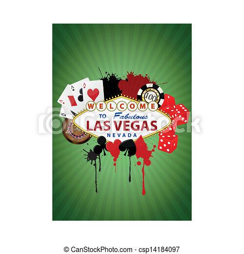 Grafico de Las Vegas - csp14184097