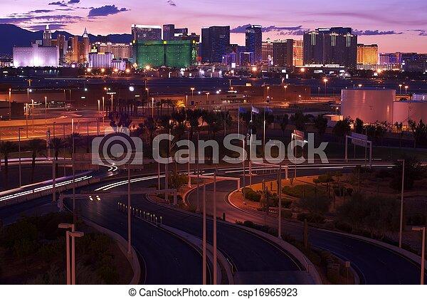 Vegas Illumination - csp16965923