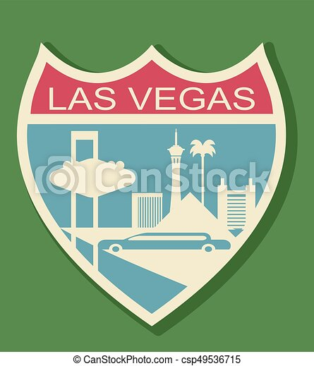 El cartel de Las Vegas - csp49536715