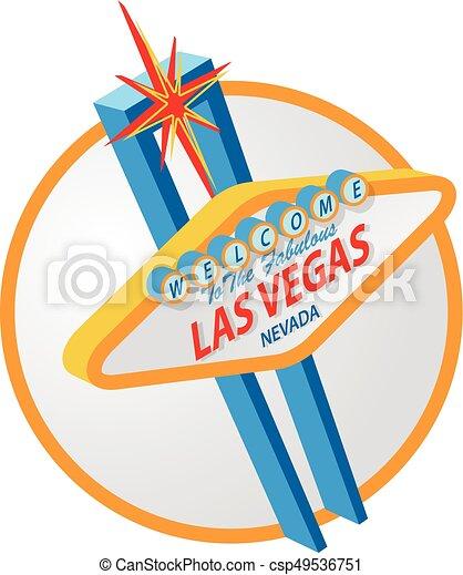 El cartel de Las Vegas - csp49536751