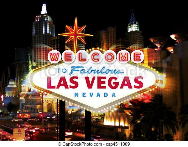 El cartel de Las Vegas - csp4511009