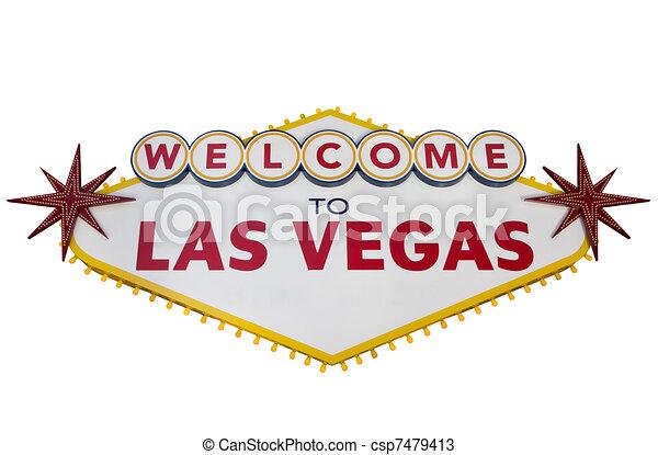 La señal de Las Vegas - csp7479413