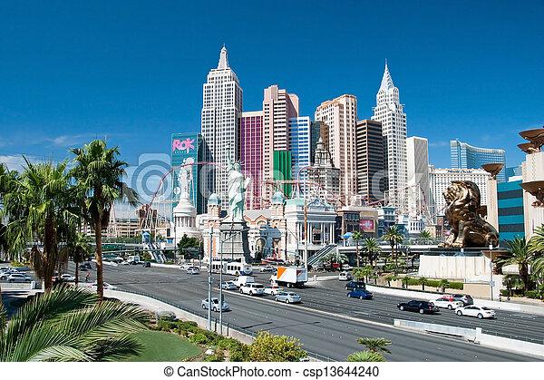 vegas, york-new, york, faixa, novo, nevada, las - csp13644240