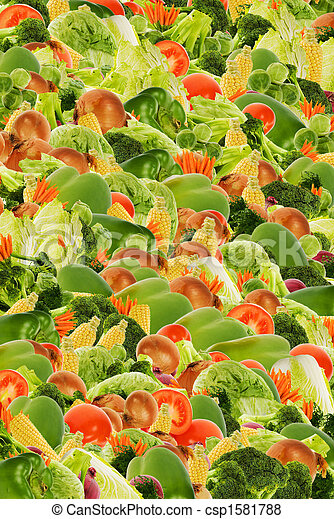 vegetable background - csp1581788
