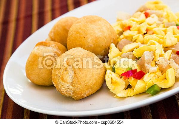 Vegetable Dumpling with Saltfish - csp0684554