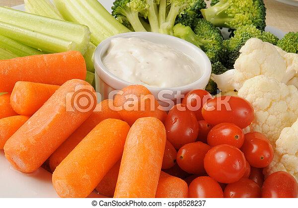Vegetable platter - csp8528237