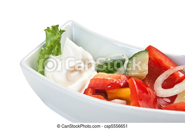 Vegetable salad - csp5556651