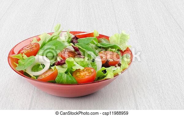 vegetable salad - csp11988959