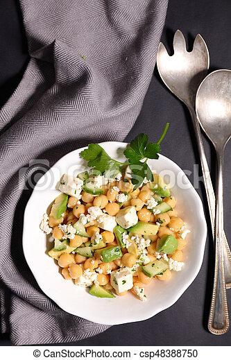 vegetable salad - csp48388750